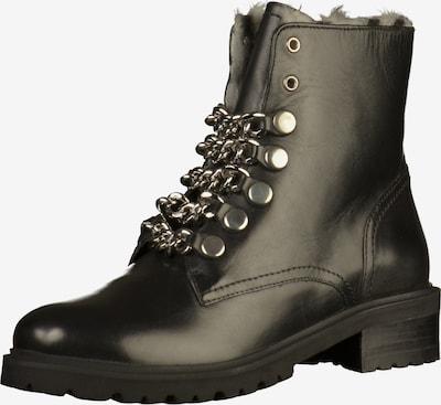 STEVE MADDEN Stiefelette in schwarz / silber, Produktansicht