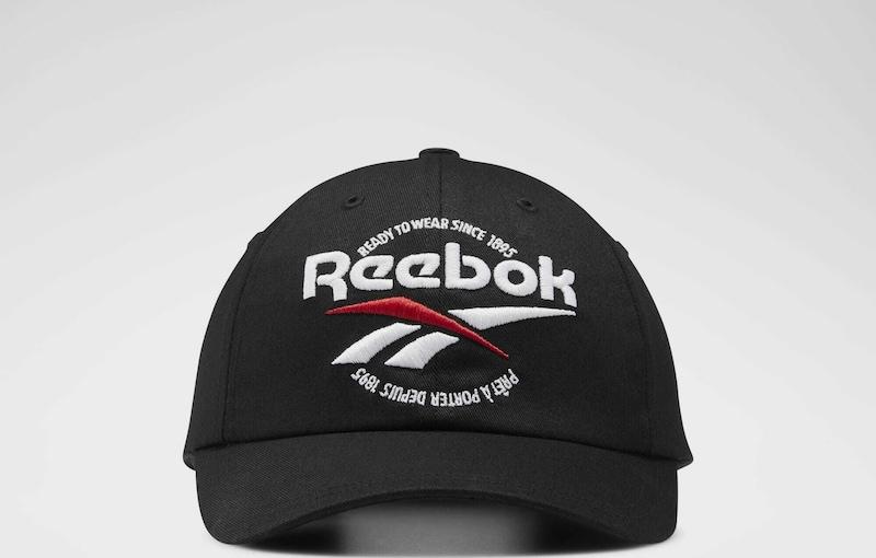 Reebok Classic Cap 'CL Graphics RTW' in rot schwarz weiß