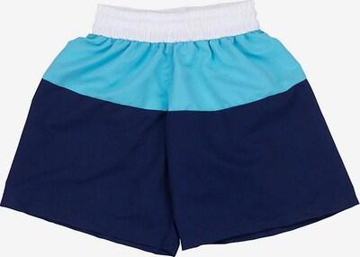 FASHY Badeshorts in blau / türkis / weiß, Produktansicht