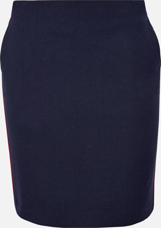 S.Oliver rot LABEL Skirt in nachtblau  Bequem und günstig