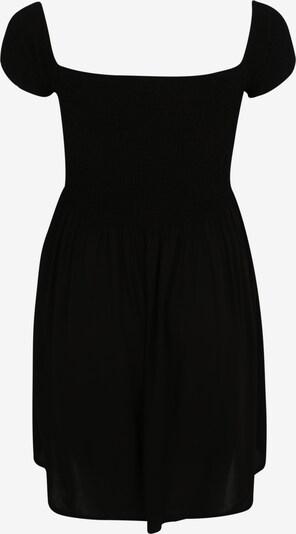 Urban Classics Kleid 'Smoked' in schwarz: Rückansicht