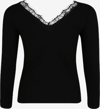 ABOUT YOU Curvy T-shirt 'Maithe Shirt' en noir: Vue de dos