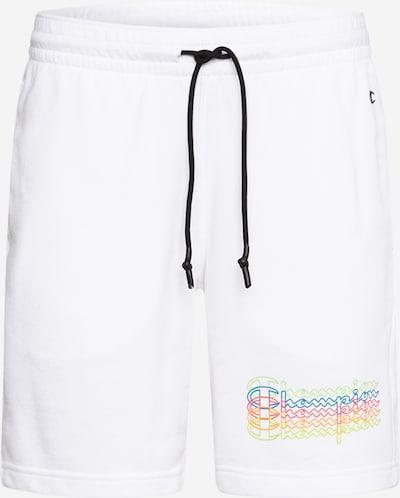 Pantaloni Champion Authentic Athletic Apparel pe alb, Vizualizare produs