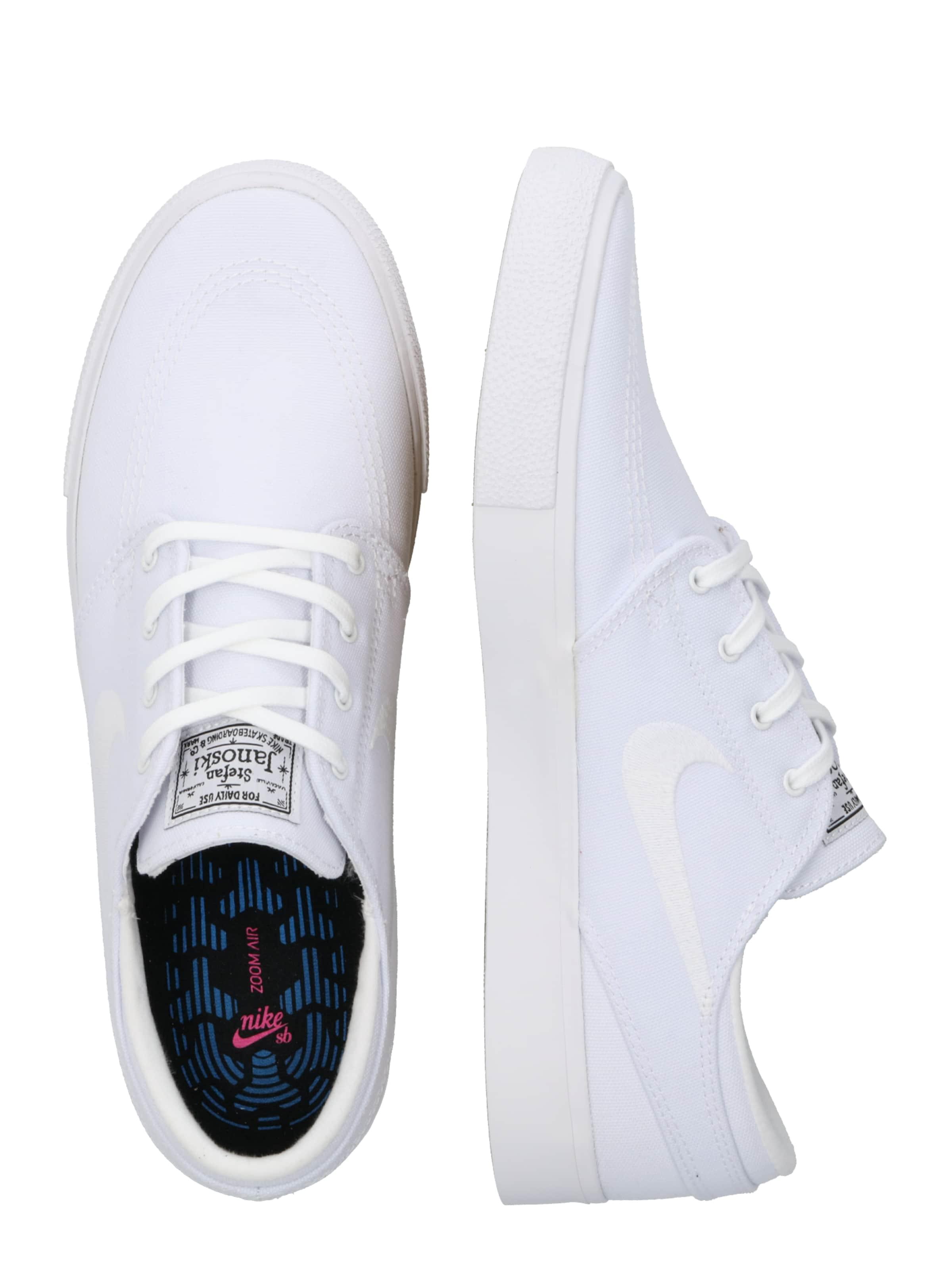Weiß Sb Janoski' Sneaker 'zoom Nike In uZPkXTwOil