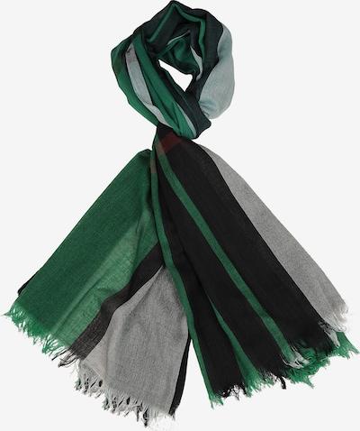 Silvio Tossi Schal in grau / grün / schwarz, Produktansicht