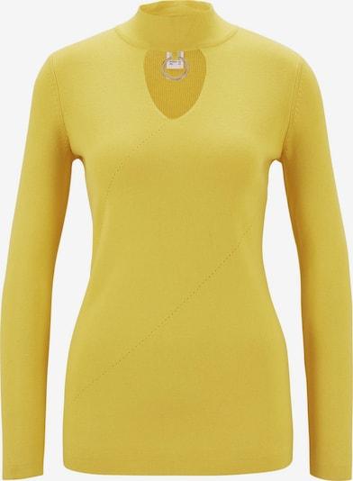 heine Pullover in hellgelb, Produktansicht