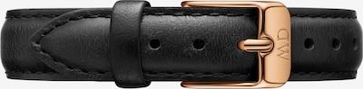 Daniel Wellington Uhrenarmbänder in schwarz, Produktansicht