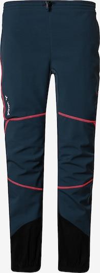 VAUDE Hose in blau / rot, Produktansicht