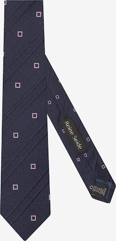 Cravate 'Slim' SEIDENSTICKER en bleu