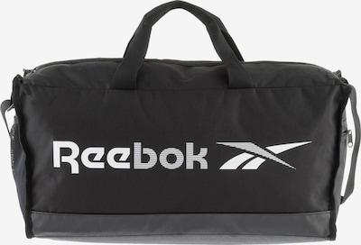 Reebok Sport Sporttasche in schwarz / weiß, Produktansicht