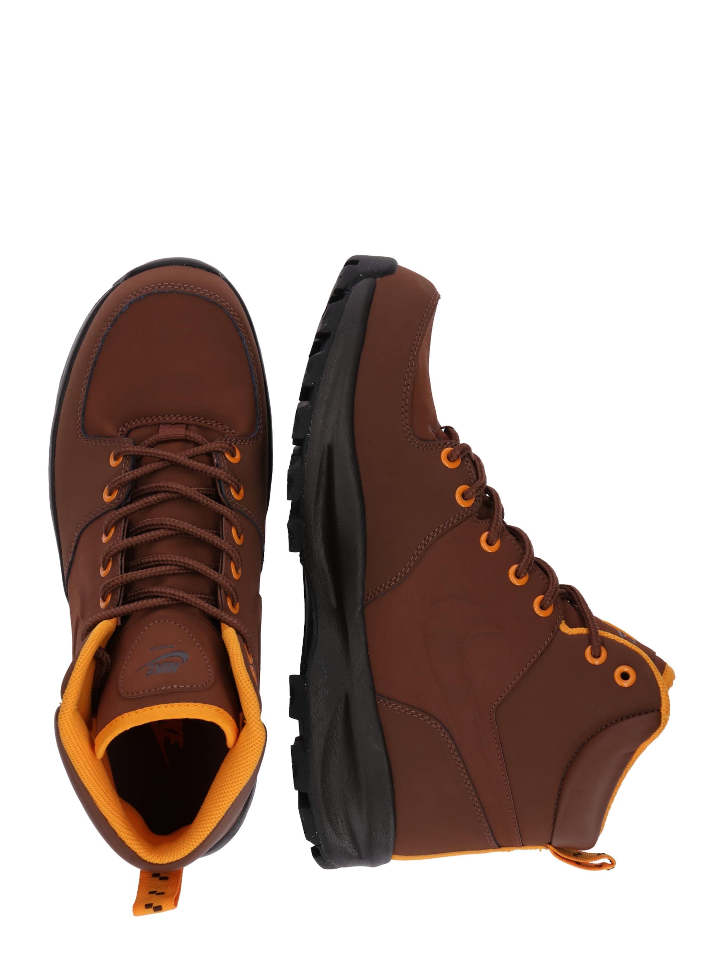 In Sneaker BraunOrange Sportswear High Nike 'manoa' CWBrodxe