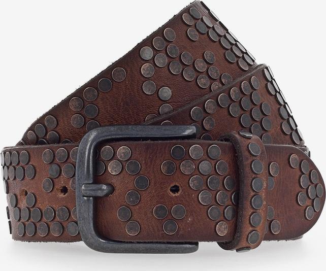 b.belt Handmade in Germany Riem in Bruin / Koper Itu8nLKc