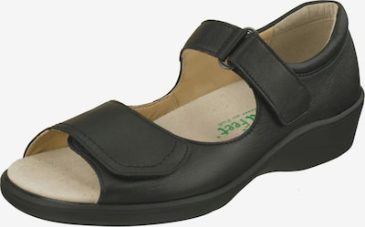 Natural Feet Sandale 'Tunis' in schwarz, Produktansicht