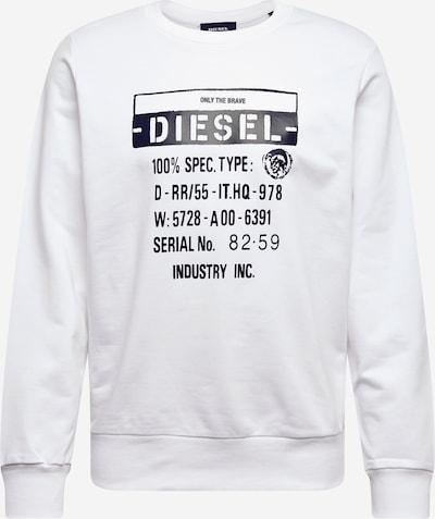 DIESEL Majica 'S-Girk-S3' | bela barva, Prikaz izdelka