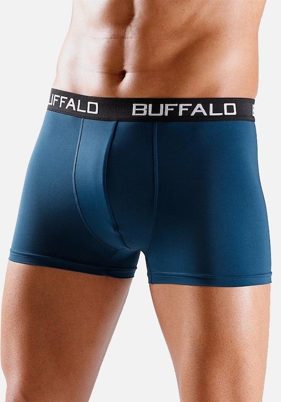 BUFFALO Boxer (4 Stück) unifarbene Retro Pants