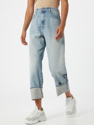 DIESEL Jeans 'Reggy' in blue denim, Modelansicht