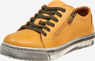 COSMOS COMFORT Lace-up shoe in yellow, Item view