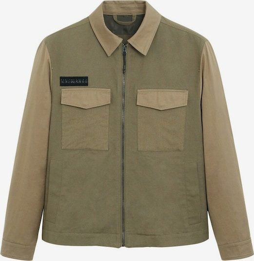 MANGO MAN Jacke 'neutral' in khaki, Produktansicht