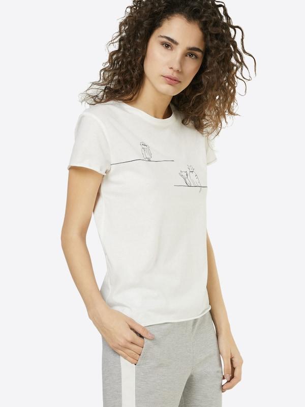 Mavi T-Shirt mit Illustration