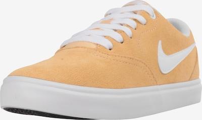 Nike SB Sneakers laag 'Check Solar' in de kleur Abrikoos / Wit, Productweergave