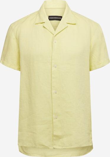DRYKORN Chemise 'Bijan' en jaune clair, Vue avec produit
