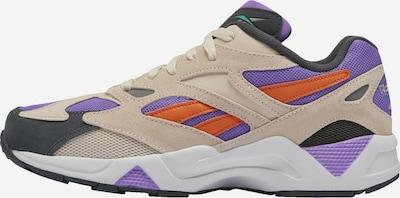 REEBOK Sneaker 'AZTREK 96' in beige / neonlila / orange / schwarz / weiß, Produktansicht