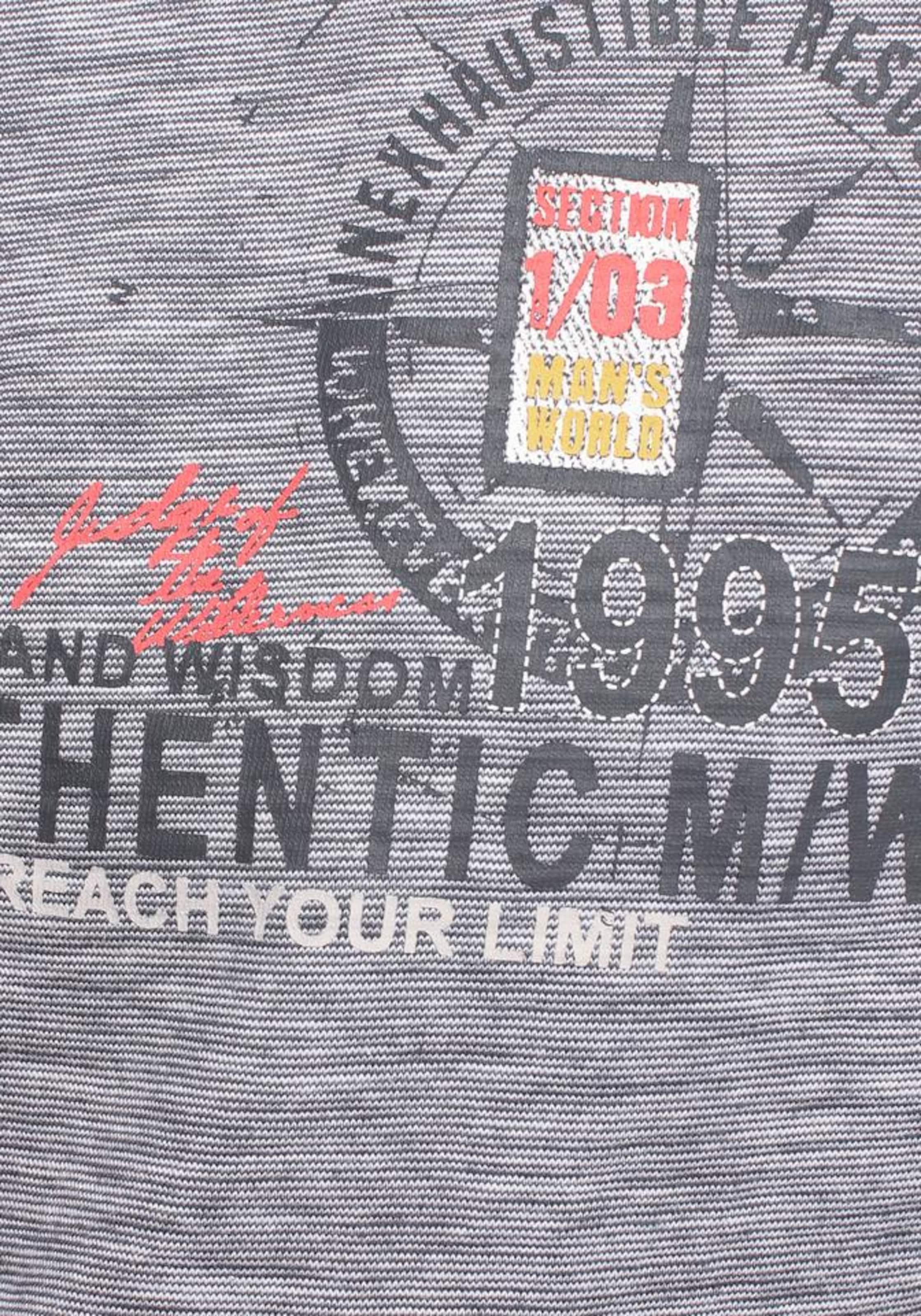 Man's World Poloshirt in marine / mischfarben Jersey 873448668