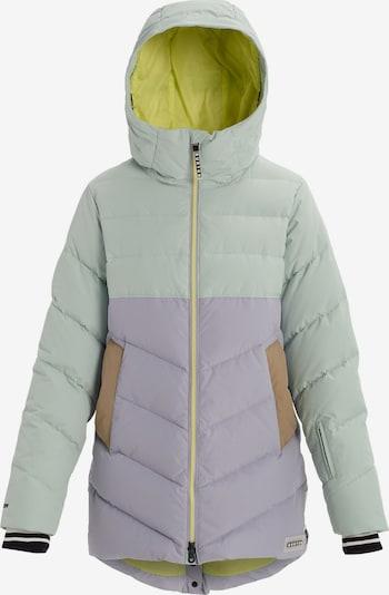 BURTON Snowboardjacke 'Loyle' in mint / flieder, Produktansicht