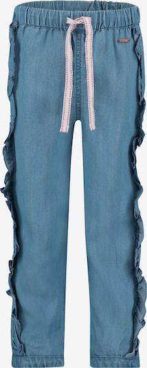 Noppies Hose 'Ruffle Pharr' in blue denim, Produktansicht