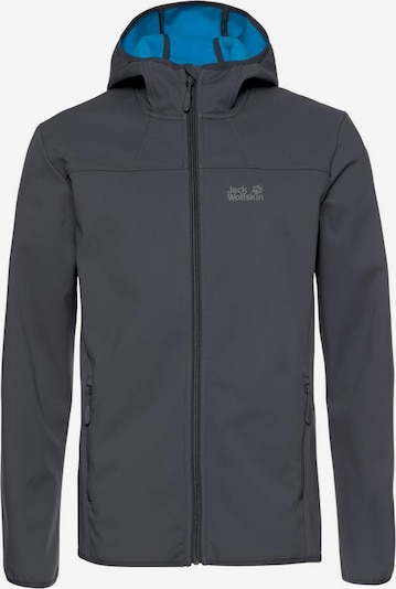 JACK WOLFSKIN Softshelljacke 'NORTHERN POINT' in anthrazit, Produktansicht