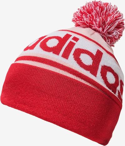 ADIDAS PERFORMANCE Mütze 'Linear Woolie' in rosa / rot / weiß, Produktansicht