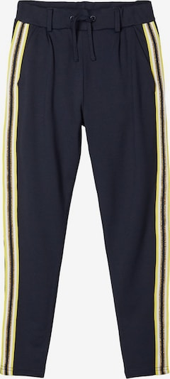 NAME IT Hose in navy / gelb / gold / weiß: Frontalansicht