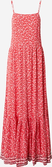 Tommy Jeans Kleid 'TJW FLORAL MAXI STRA' in hellrot, Produktansicht