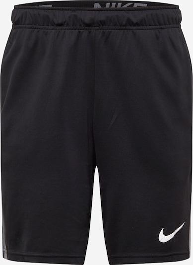 NIKE Sportske hlače u siva / crna, Pregled proizvoda