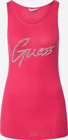 GUESS Tanktop 'Guess' in pink, Produktansicht