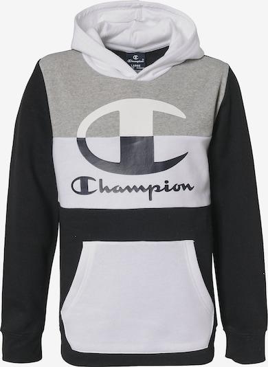 Champion Authentic Athletic Apparel Sweatshirt in nachtblau / graumeliert / weiß, Produktansicht