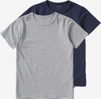 MINYMO T-Shirt 2er Pack für Jungen in blau / grau, Produktansicht