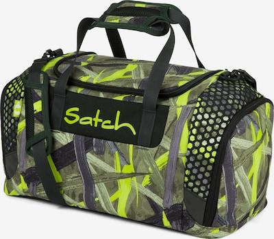 Satch Sporttasche in grau / grün / schwarz, Produktansicht