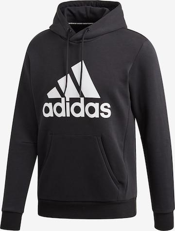 ADIDAS PERFORMANCE Athletic Sweatshirt 'MH Bos' in Black