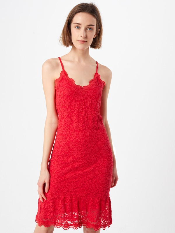 De Robe 'strap Cocktail Dress' Rosemunde Rouge En n08wOkP