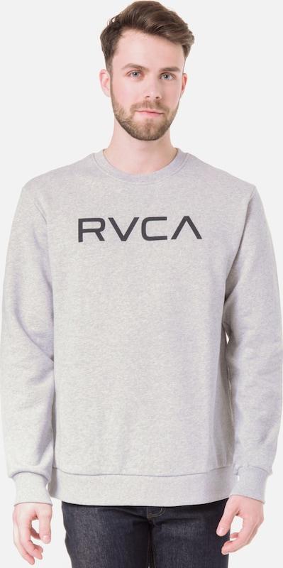 RVCA Sweatshirt 'Big Crew' in anthrazit   hellgrau  Bequem und günstig