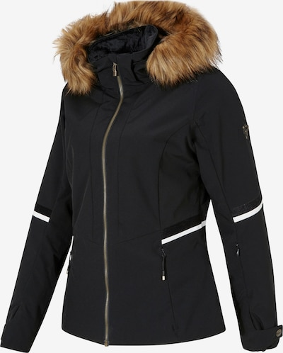ZIENER Skijacke 'Toyah' in schwarz, Produktansicht