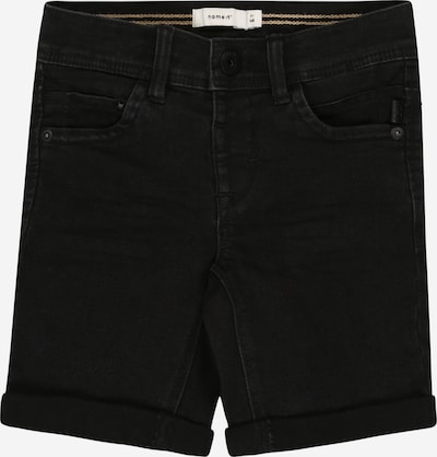 NAME IT Jeansshorts in schwarz, Produktansicht