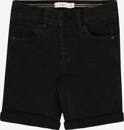 NAME IT Kalhoty - černá: Pohled zepředu
