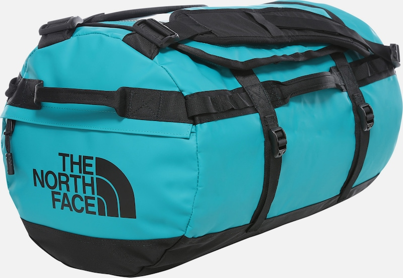 THE NORTH FACE Sporttas 'Base Camp S' in de kleur Turquoise / Zwart, Productweergave