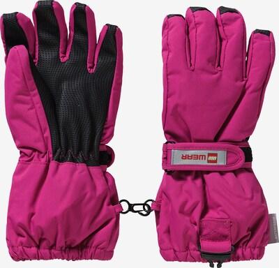 LEGO WEAR Handschuhe 'ALFRED 703' in pink / schwarz, Produktansicht