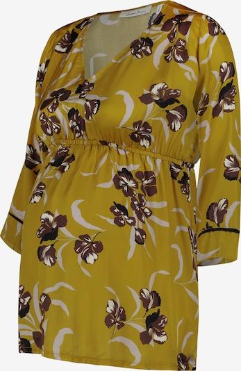 QUEEN MUM Bluse in gelb, Produktansicht