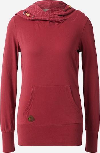 Ragwear Sweatshirt 'ANGELINA' in rot, Produktansicht