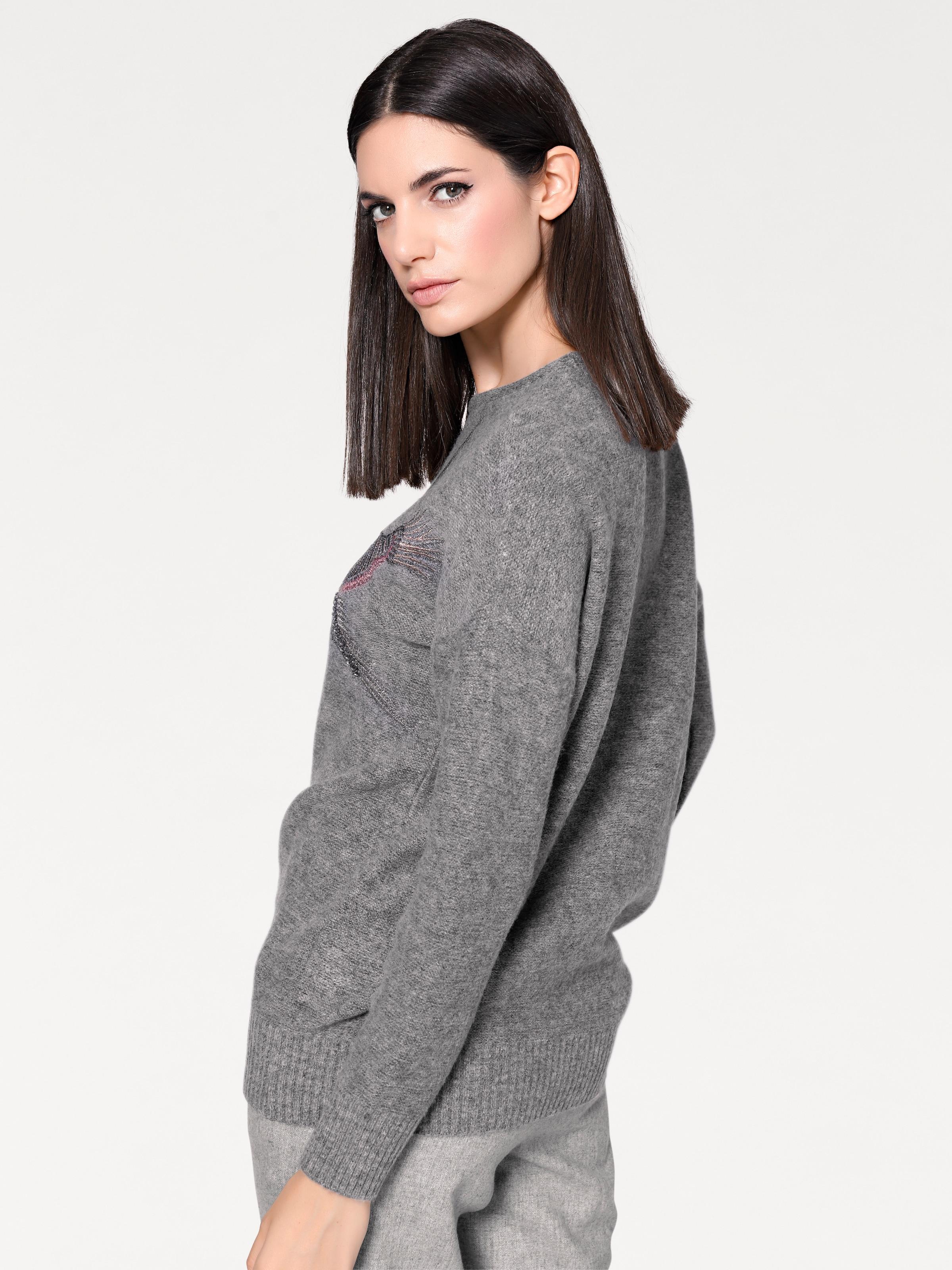 Graumeliert Pullover Heine Pullover Heine In Pullover Graumeliert In Heine FKc5ul31JT