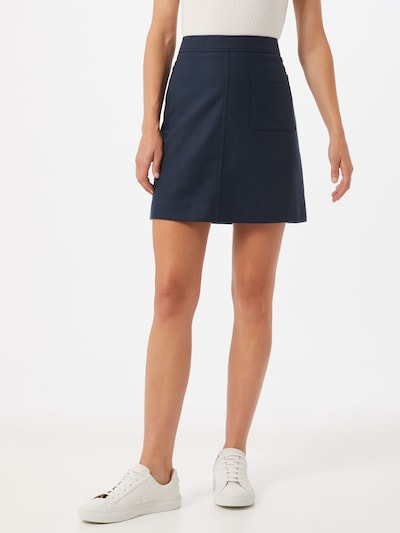 Marc O'Polo Minirock in navy: Frontalansicht